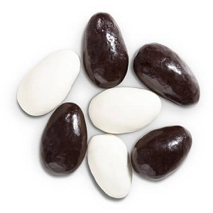 Tuxedo Almonds-Yogurt & Chocolate - 25lbs