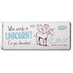 Unicorn Milk Chocolate Candy Bar - 24ct
