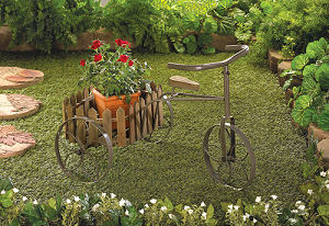 Vintage Cycle Planter