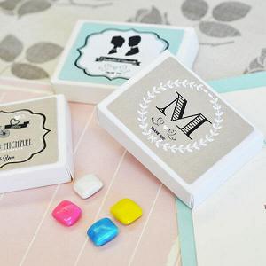 Vintage Wedding Gum Boxes - 24ct