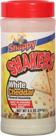 White Cheddar Seasoning Shakers  -  8.5oz  - 12ct