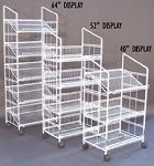 White Modular Display Rack - 40 Inch
