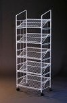 White Modular Display Rack - 64 Inch