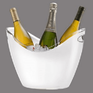 White Wine Gondola Bucket - 4ct