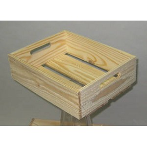 Wooden Crates - 12ct - Color Choice