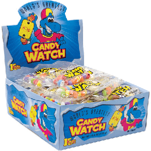 World's Greatest Candy Watches - 48ct