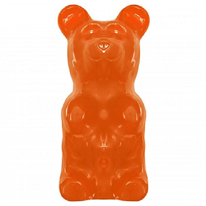 World's Largest Gummy Bear Orange - 5lbs