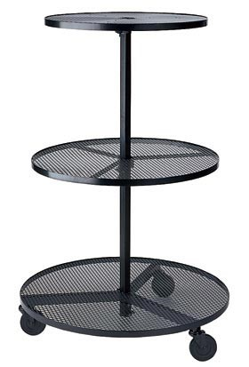 Wrought Iron Three Tier Stand