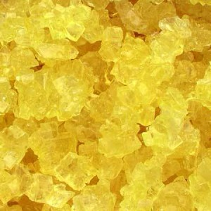 Yellow Lemon Rock Candy Strings - 10lbs