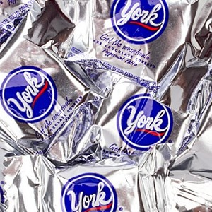 York Peppermint Patties - 25lbs