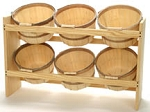 1 Peck 6 Basket Rack - Color Choice
