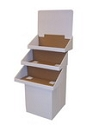 Tri Tray Floor Merchandiser - 24""