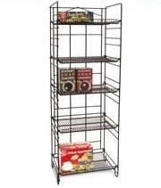 Heavy Duty Adjustable SHELVING Rack - 5 Shelves