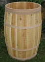 Wood Barrels For Candy Display