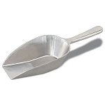 2 oz Aluminum Kitchen Scoops - 12ct