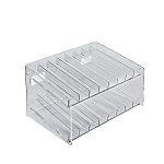 2 Tier 16 Compartment Cosmetic Display