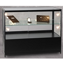 Lighted Display Case with Storage