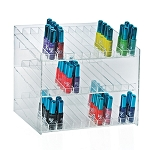 3 Tier 36 Compartment Cosmetic Display