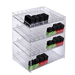 4 Tier 32 Compartment Cosmetic Display