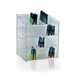 4 Tier 48 Compartment Cosmetic Display