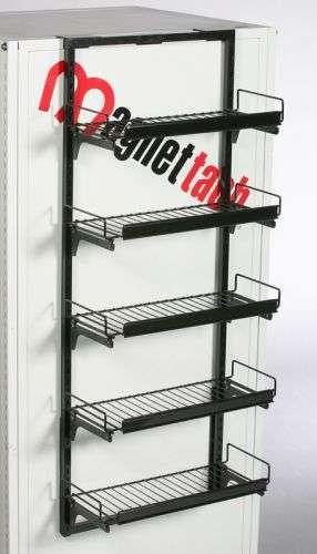 5 Shelf Magnetic Display Magnetic Shelves Retail Fixture