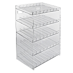 5 Tier 40 Compartment Cosmetic Display