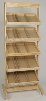 5 Shelf - Crate Rack - Color Choice