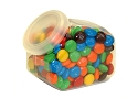 Hexagon Candy Jars With Lids - 24ct