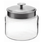64 oz Mini Montana Jars w/Aluminum Lids - 2ct