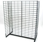 Gondola Slatgrid Display Rack - 4 Foot