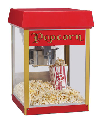 Gold Medal Red Fun Pop 4 Ounce Popper Popcorn Machine