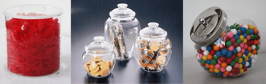Acrylic Candy Jars