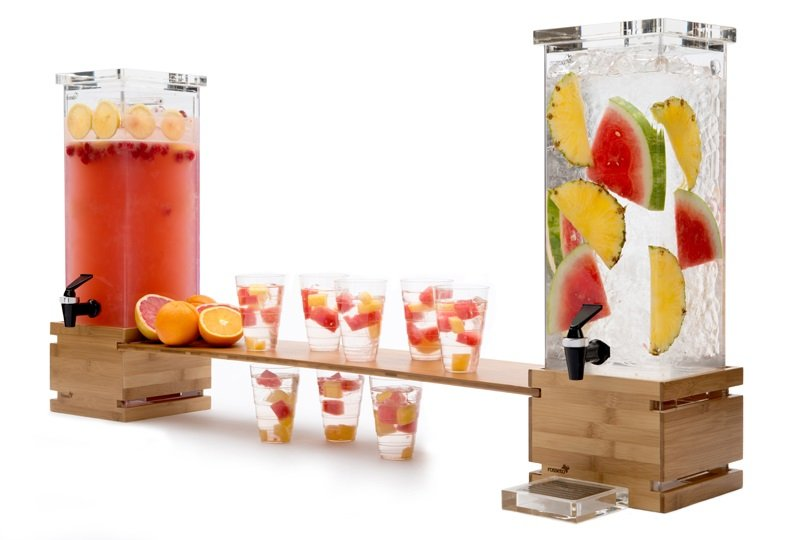 Beautiful Beverage Dispensers For A Buffet Table