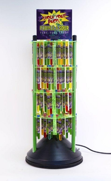 Formula Sour Counter Display Wholesale Filled Candy Displays