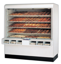 Large Bakery Cases