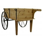 Mini Planter Wagon - Toasted Finish