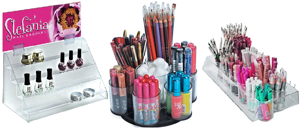 Cosmetic Displays and Organizers
