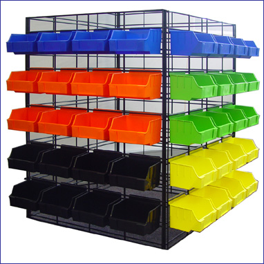 Display Bins For Shops