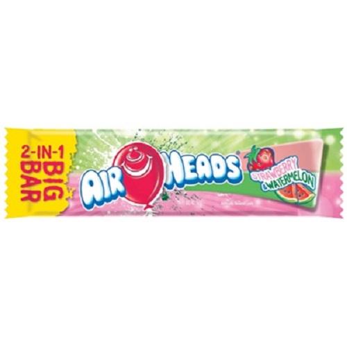 strawberry  watermelon airhead big bar taffy candy bigbar