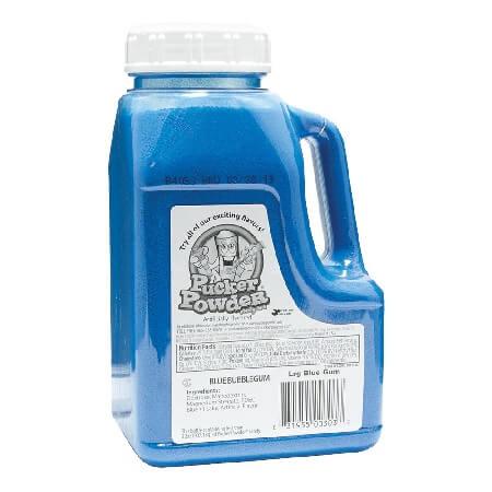 Bubblegum Pucker Powder Jug Blue Powdered Candy Sugar