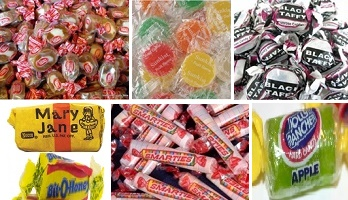 Top 10 Selling Wrapped Bulk Candies