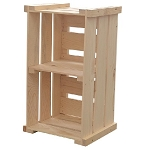 Wooden Display Crates - 5ct
