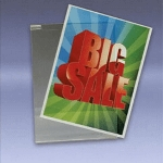 Acrylic Sign Holders For Grid - 5 1/2 in.