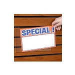 Acrylic Sign Holders For Slatwall - 7