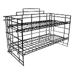 Adjustable Shelf Wire Counter Rack