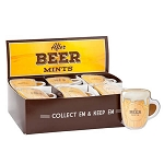 Beer Mug Shaped Mint Tins - 24ct