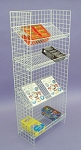 All Purpose 4 Level Wire Shelf Unit