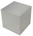 Aluminum Cube Table