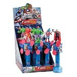 Avengers Candy Fan  - 12ct