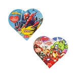 Avengers/Spiderman Chocolates Heart Box - 24ct